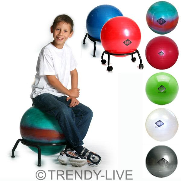 basit gymnastikball sitzball fitnessball ball b rostuhl farbe und gr e w hlbar ebay. Black Bedroom Furniture Sets. Home Design Ideas